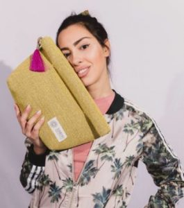 Oversized Lunch Bag Yellow