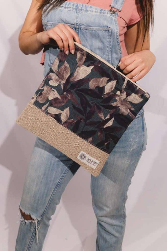 Garden Foldover Bag
