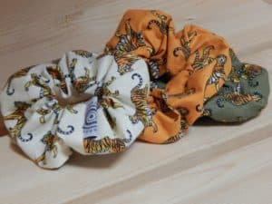 Tiger Scrunchies
