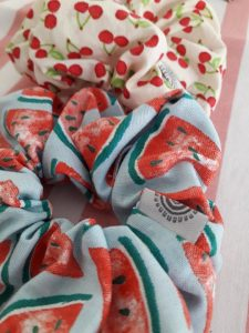 Watermelon Scrunchy