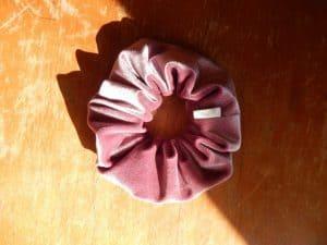 Velvet Scrunchy Pastel Purple