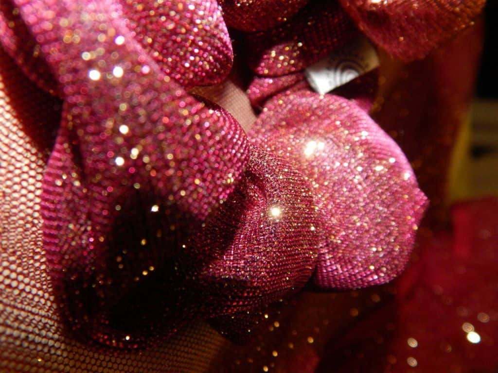 "Glitter Scrunchy Purple ""The Xmas edition"""