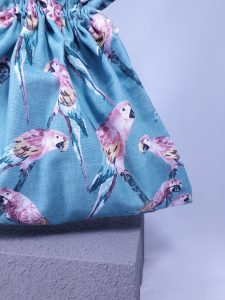 Budgie Bucket Tote Bag