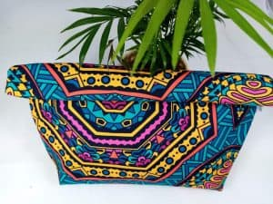 Green Mandala Lunch Bag