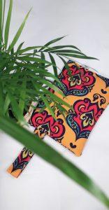 Yellow Damask Small size Bag