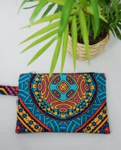 Green Mandala Small size Bag