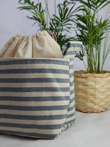 Blue Stripe Neceser