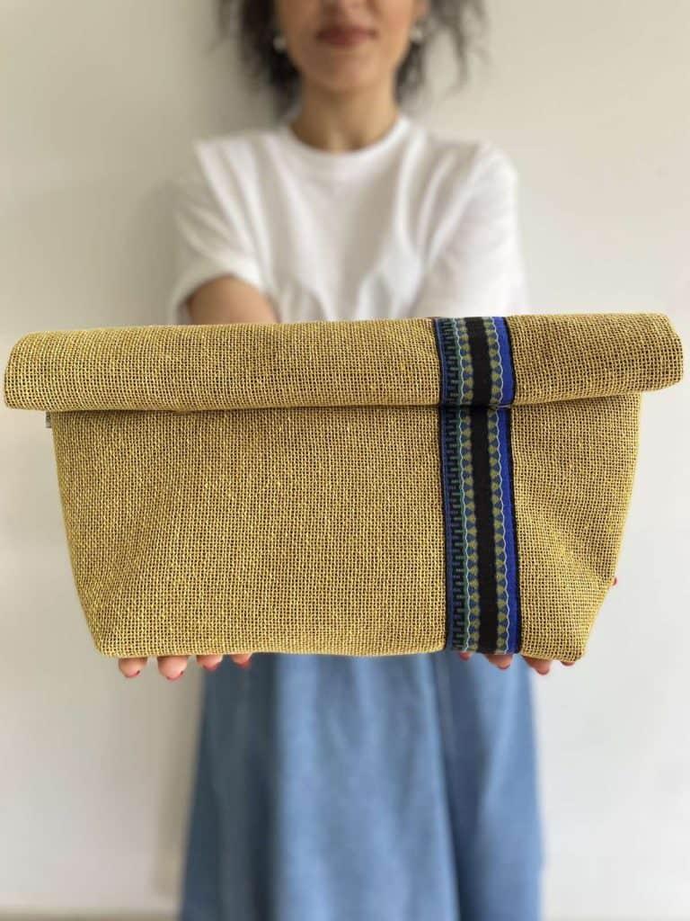 Oversized Yellow Linen