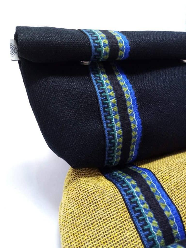Tiny Black Linen