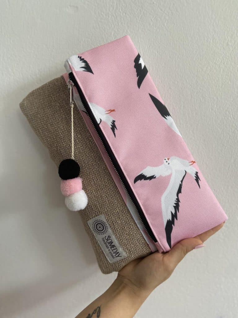 Seagulls Foldover Bag