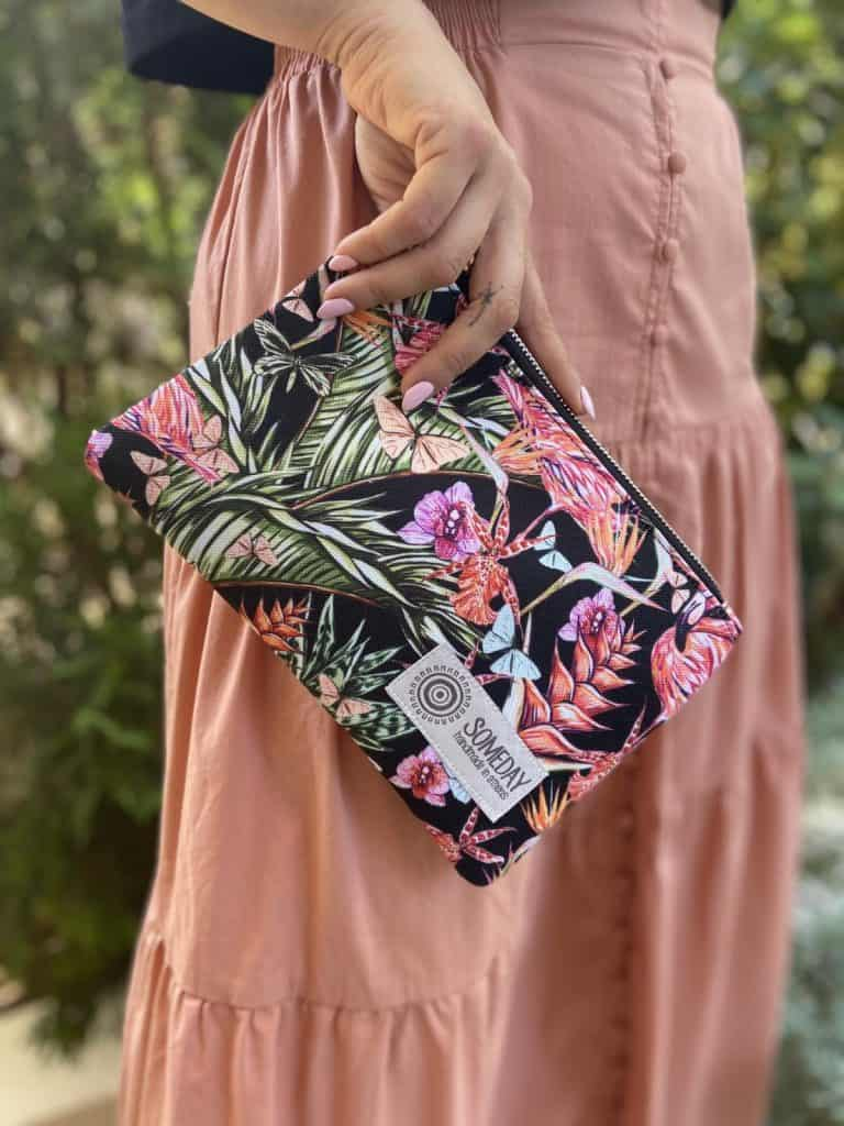 Black Flamingo Small Bag