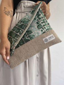 Fern Foldover Bag
