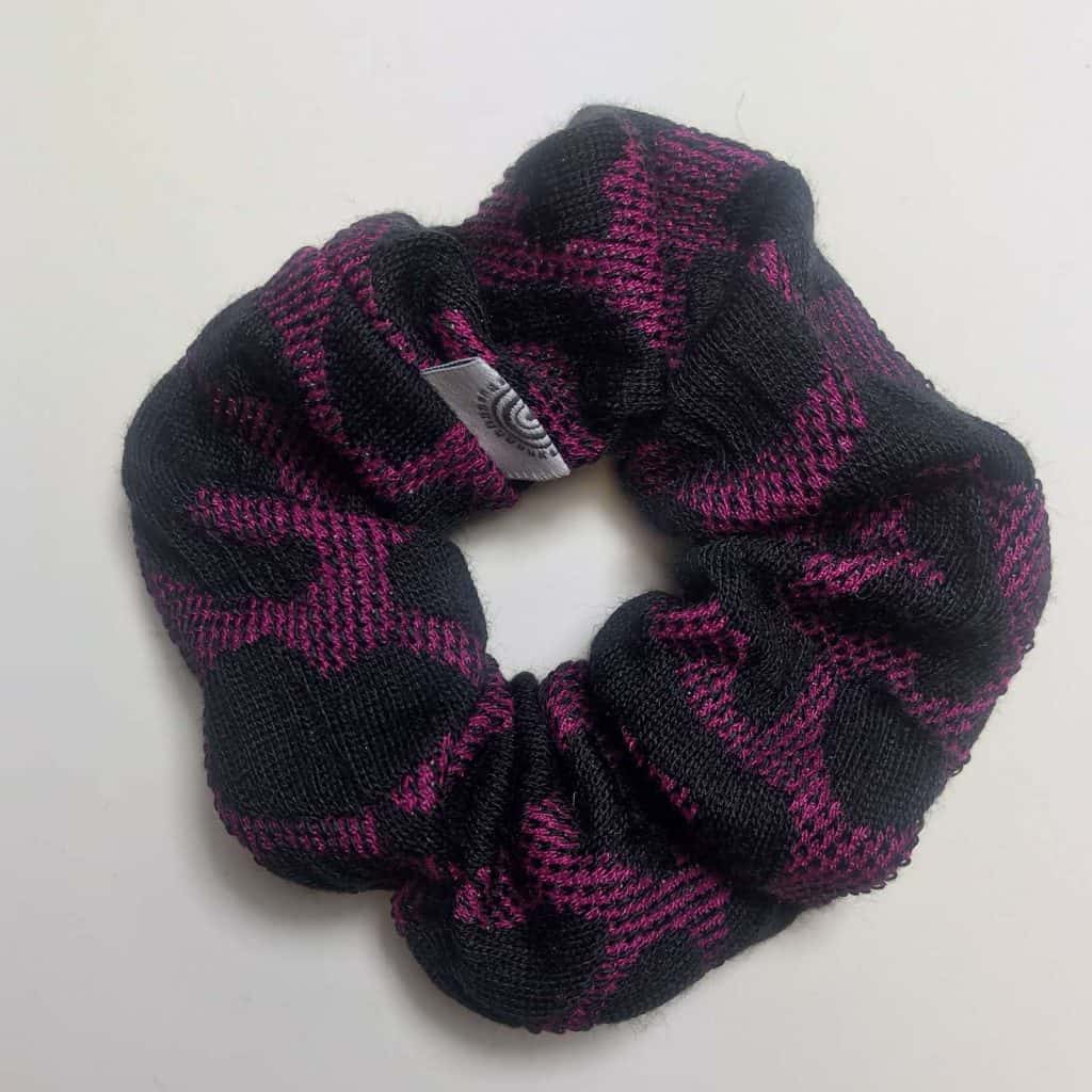 Purple Animal Scrunchy
