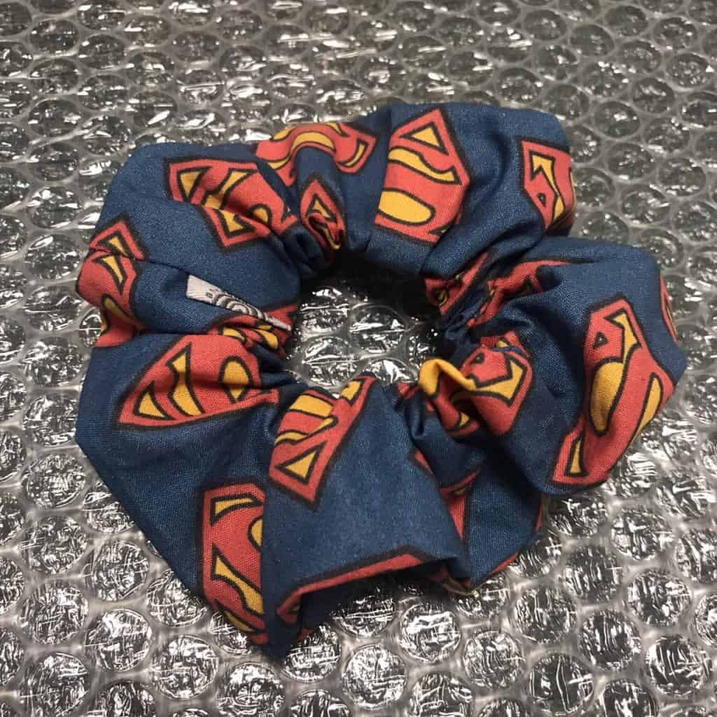 Superman Scrunchy