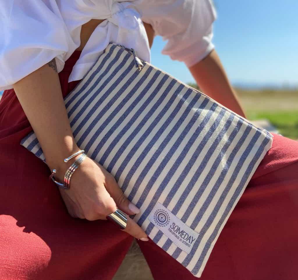 Blue Stripes Medium