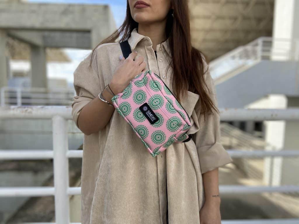 Pink Sun Belly Bag