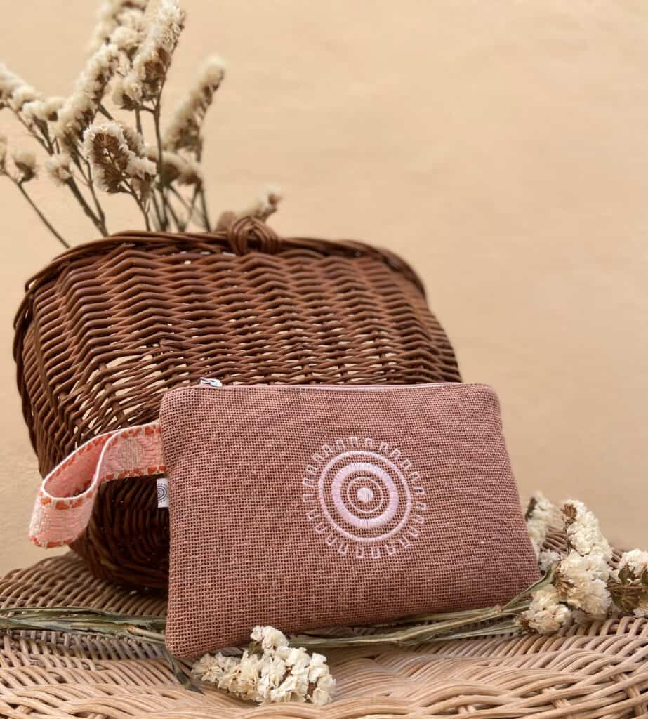 Coral Small Pouch